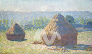 Haystacks, End of Summer by Claude Monet Premium Giclee Print