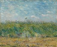 Wheatfield with Partridge by Vincent van Gogh Premium Giclee