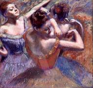 Dancers by Edgar Degas Premium Giclee Print