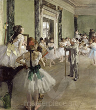 The Ballet Class by Edgar Degas Premium Giclee Print