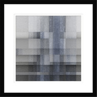 Framed Abstract by Luc Vangindertael