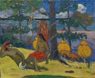 Te Arii Vahine - La Femme by Paul Gauguin Giclee
