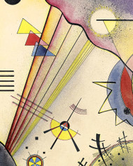 Clear Connection by Wassily Kandinsky Abstract Giclee