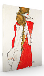 Mother and Daughter by Egon Schiele Wall Art