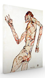 The Dancer by Egon Schiele Wall Art