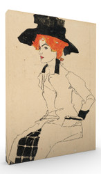 Portrait of a Woman II by Egon Schiele Wall Art