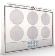 Tableau des Diverses Projections des Cartes Stretched Canvas