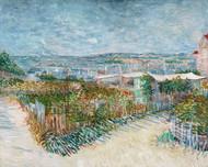 Montmartre behind the Moulin de la Galette by Vincent van Gogh