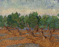 Olive Grove by Vincent van Gogh