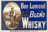 Ben Lomond Blend Whisky Vintage Advertising