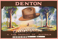 Denton - A fine product of Australia Vintage Advertising