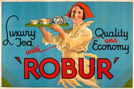 Robur Luxury Tea Australian Vintage Advertising