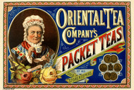 Oriental Tea Company's Packet Teas Australian Vintage Advertising