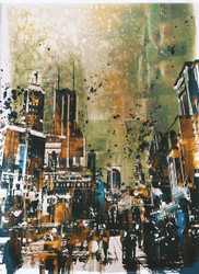 Abstract Art, Abstract Cityscape V