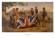 The Burial of Burke by William Strutt