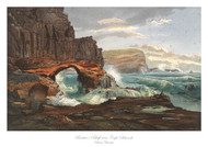 Barker's Bluff, near Cape Schanck by Nicholas Chevalier