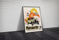 Marquette by Buick Advertising Poster c1920 Framed