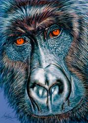 Gorilla by Lori Watson African Art