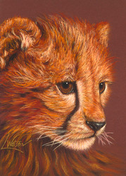 Cheetah by Lori Watson African Art