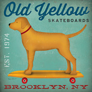 Old Yellow Skateboards