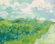 Vincent van Gogh Print Green Wheat Fields Auvers