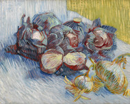 Vincent van Gogh Print Red Cabbages and Onions