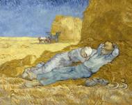 Vincent van Gogh Print The Siesta After Millet