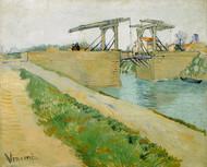 Vincent van Gogh Print The Langlois Bridge