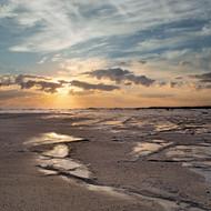 Seascape Print Beach Calm by Jeff Grant