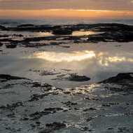 Seascape Print Ledge and Sky 01 by Jeff Grant