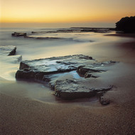 Seascape Print Rock  by Jeff Grant