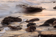 Seascape Print Long Reef Rocks by Jeff Grant