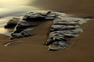 Seascape Print Washed Rock by Jeff Grant