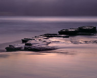 Turimetta Spotlight by Jeff Grant Seascape Print