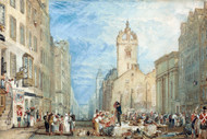 William Turner Print High Street Edinburgh