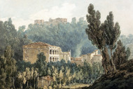 William Turner Print In the Valley Near Vietri