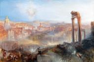 William Turner Print Modern Rome Campo Vaccino