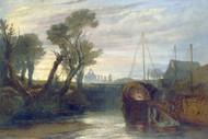 William Turner Print Newark Abbey