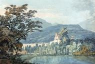 William Turner Print Sir William Hamiltons Villa