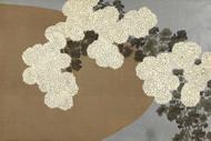 Japanese Print Chrysanthemums by Yamada Naosaburo
