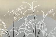 Japanese Print Moon and Grasses by Yamada Naosaburo 1909 Art