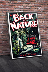 Back To Nature 1933 Movie Poster Framed