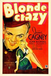 Blonde Crazy 1931 Movie Poster