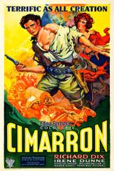 Cimarron 1931 Movie Poster