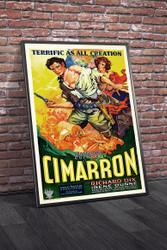 Cimarron 1931 Movie Poster Framed