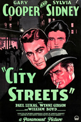 City Streets 1931 Movie Poster