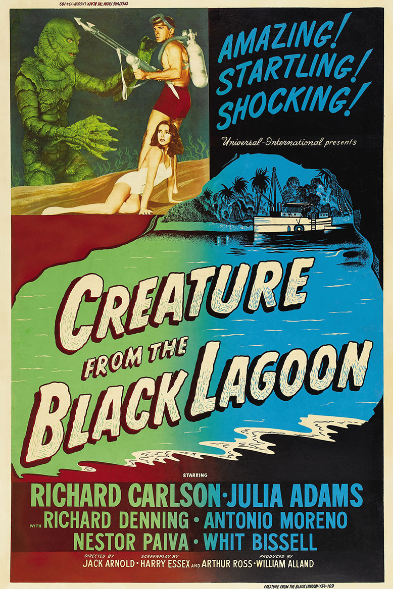 Creature From The Black Lagoon 1954 Spanish Ii Movie Poster