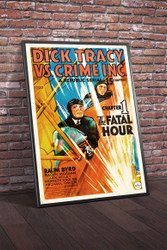 Dick Tracy vs Crime Inc 1941 Movie Poster Framed