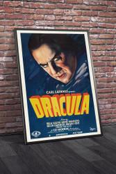 Dracula 1931 Movie Poster Framed