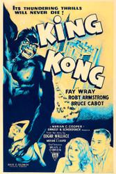 King-kong 1952 Movie Poster